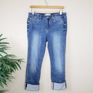 Henry & Belle | Cuffed Cropped Jeans